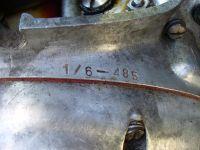 Číslo vyměněného motoru
