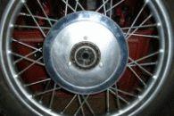 Hliníková krytka předního kola
