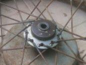 Krytka předního půlbubnového kola