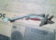 Třetí provedení pedálu pro celobubnová kola od konce roku 1956