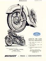 Jawa 250/353 celobuben 1955