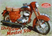 Jawa-ČZ 350/354.04 1960 anglicky