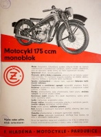 ČZ 175 Monoblok